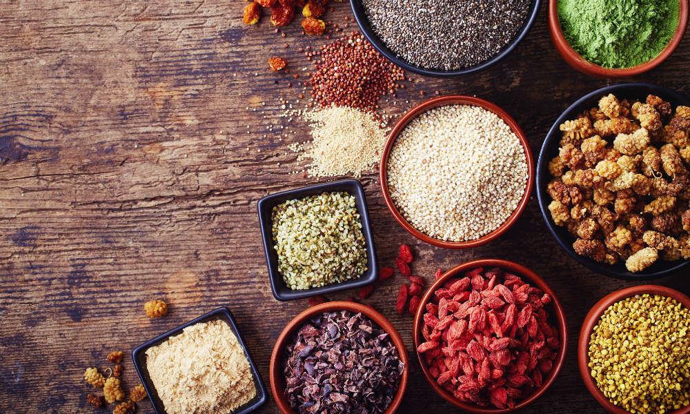 Superfoods: Regionale Alternativen